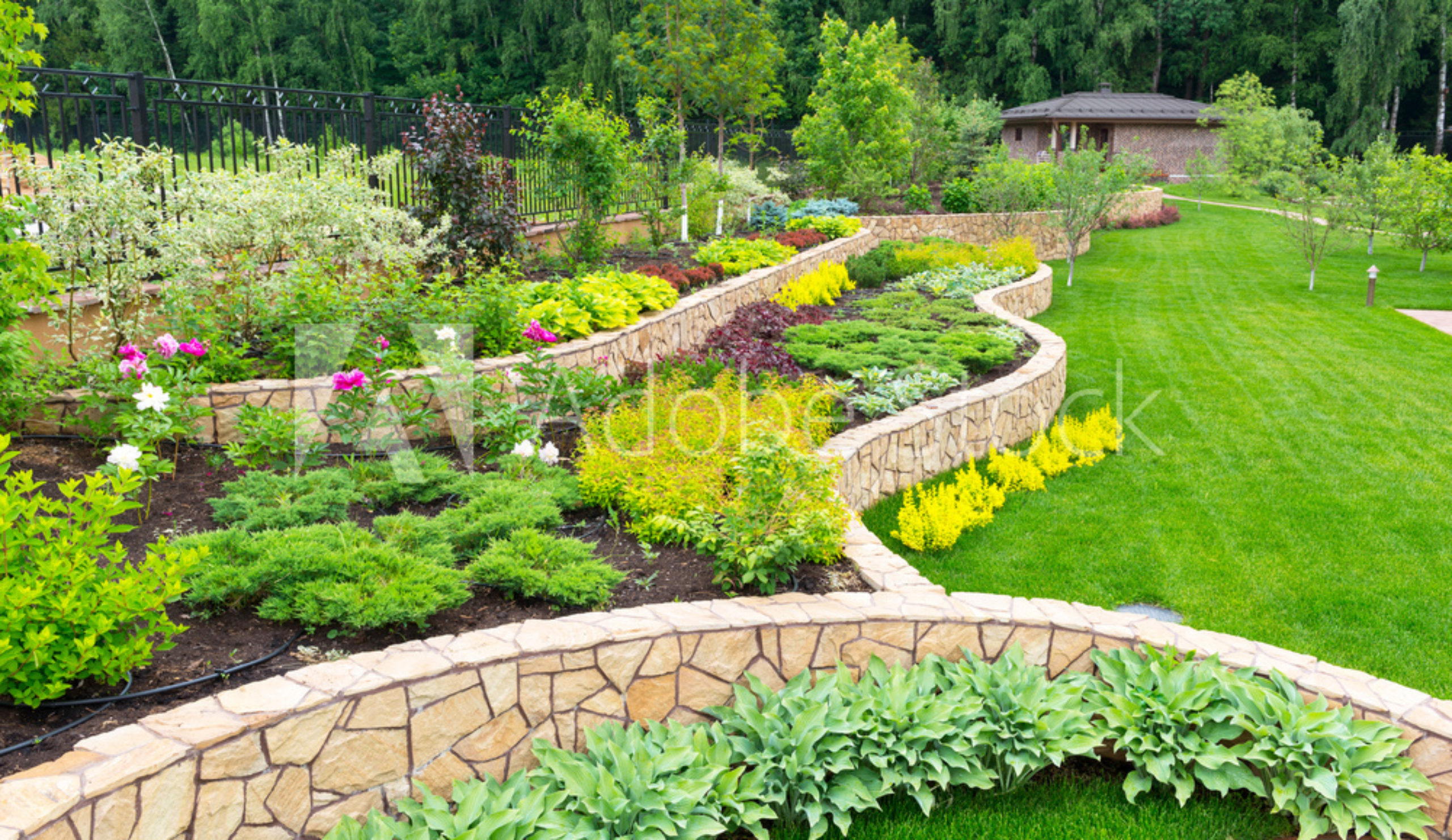 Waterscape landscaping and design group professional for Waterscape garden designs